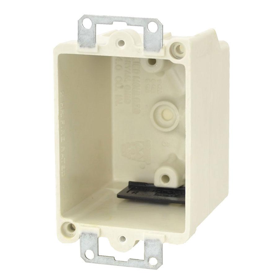 9331-EK Single gang electrical box with metal ears