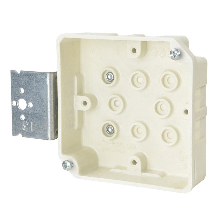 9339-Z+1 4 square inch junction box with Z hanger bracket
