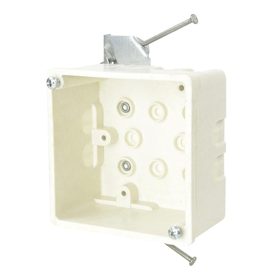 9342-HN 4 square inch junction box with HN hanger bracket