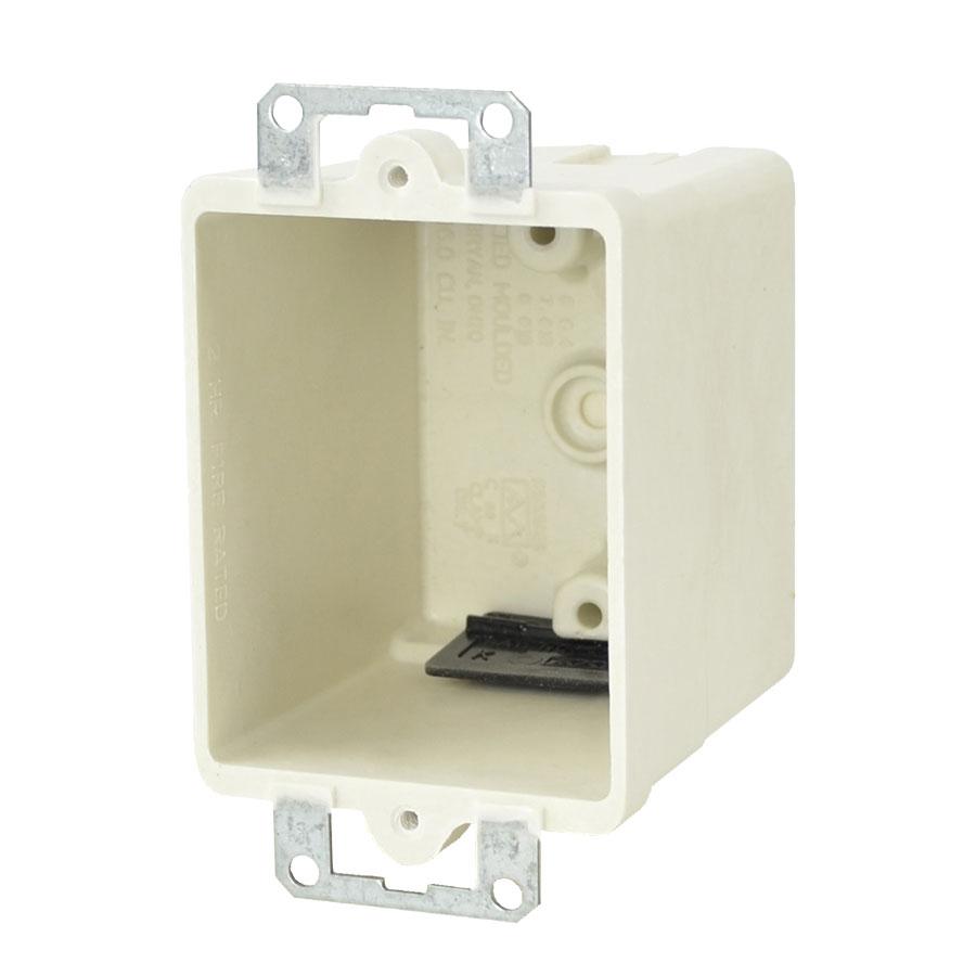 9361-EK Single gang electrical box with metal ears
