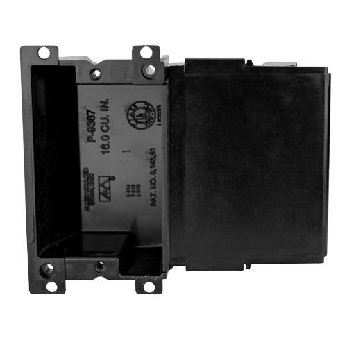 P-9367 Single gang electrical box
