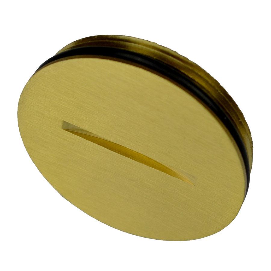 FB-BRPLG Brass replacement screw plug