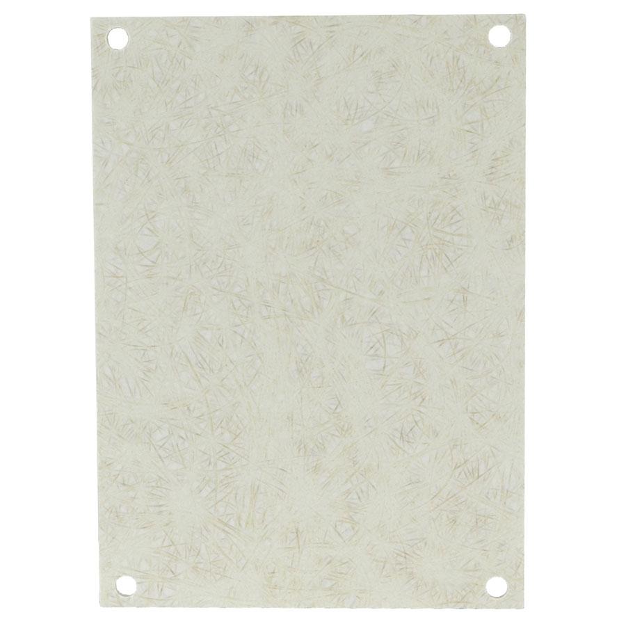 PF108 Fiberglass back panel for use with fiberglass enclosures