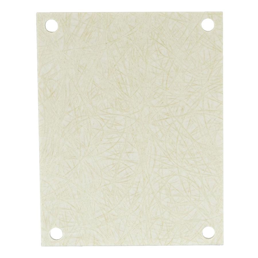 PF74 Fiberglass back panel for use with fiberglass enclosures