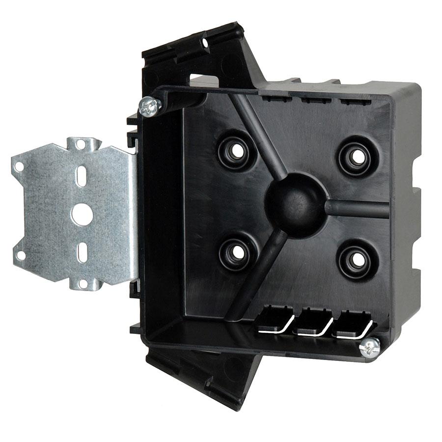 PJ-20H 4 square junction box with side mount hanger