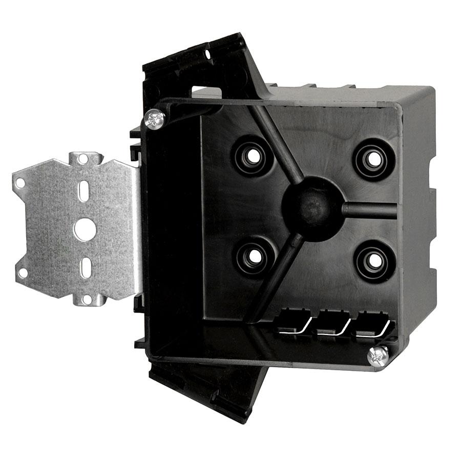 PJ-32H 4 square junction box with side mount hanger