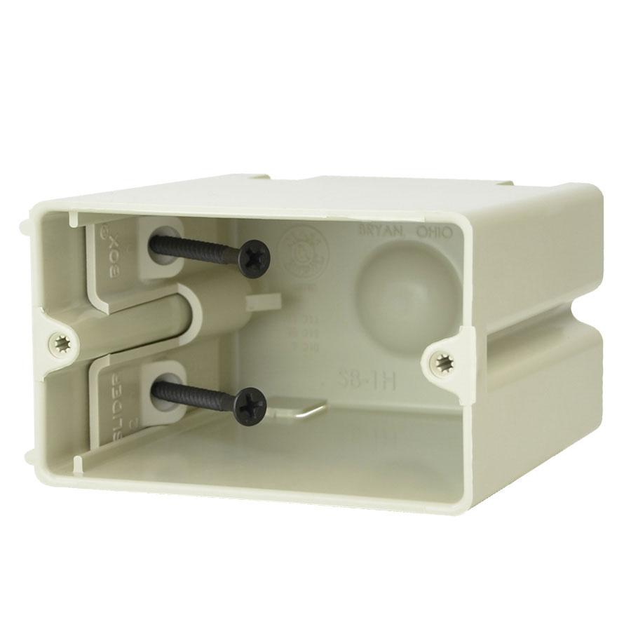 SB-1H Single gang adjustable electrical box