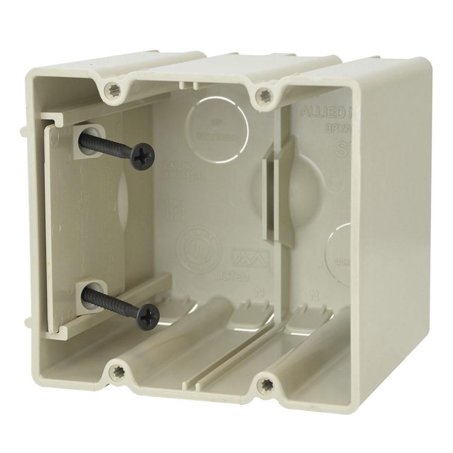 SB-2 Two gang adjustable electrical box